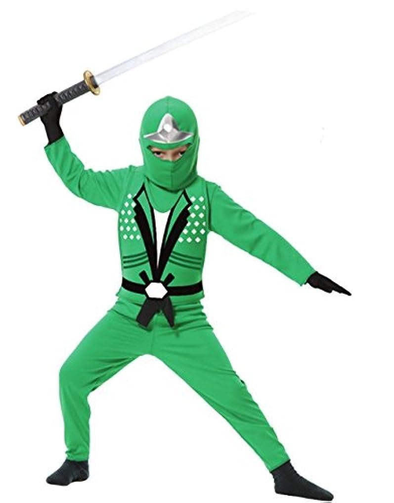 採用明快に同意するGreen Ninja Avengers Series II Toddler/Child Costume 緑忍者アベンジャーズシリーズIIの幼児/子供の衣装?ハロウィン?Mサイズ