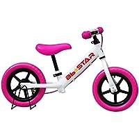 子供用自転車 バランスバイク Bb★STAR ペダルなし自転車 ランニングバイク トレーニングバイク キッズバイク おもちゃ 乗用玩具 子供 幼児 子供自転車 プレゼントに最適 BB★STAR (ピンク)