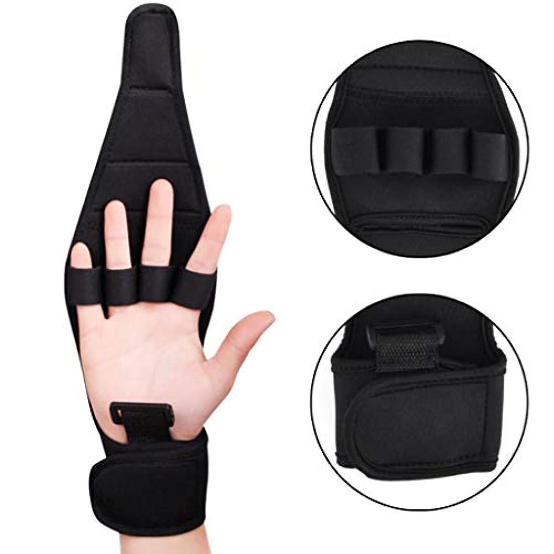 寛大さ傾斜終了しました指の分離器 - 年配の片麻痺の指のリハビリテーションの訓練のために適した回復添え木の共同苦痛の訂正者,1pcs