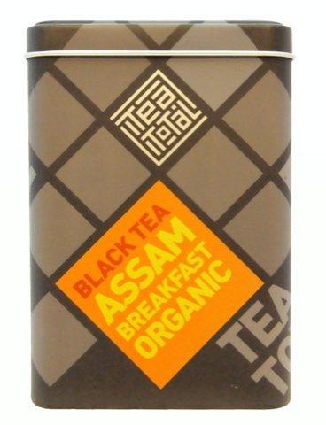 ティートータル アッサムオーガニック スペシャルブレンド 三角ティーバッグ 20包入り缶 ニュージーランド産 紅茶 フレーバーティー