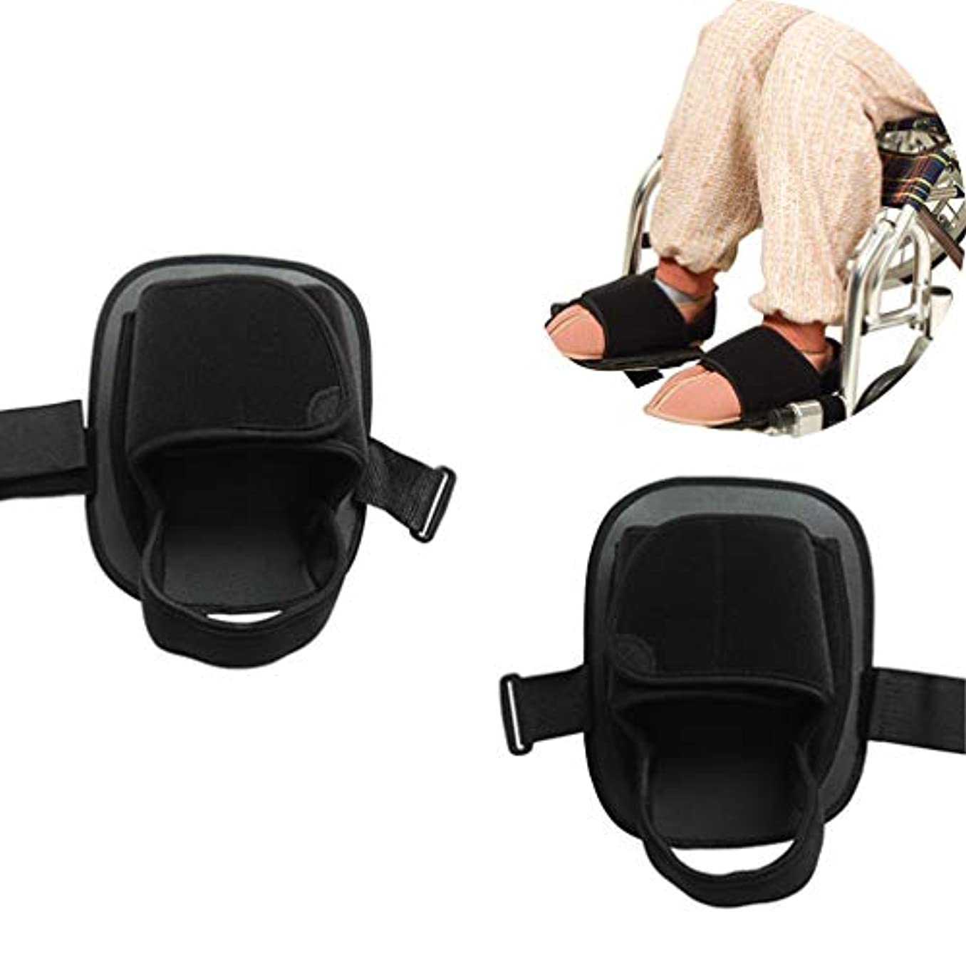 立ち向かう販売計画ナビゲーション安全車椅子の靴 - メディカルフット滑り止めの試験官 - - 車椅子ペダルフット休符男性女性から滑り落ちるの足をキープ高齢患者ハンディキャップのために回復