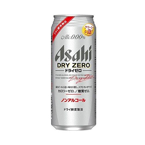 アサヒ ドライゼロ 500ml×1ケース(24缶) ■2箱まで1個口発送可