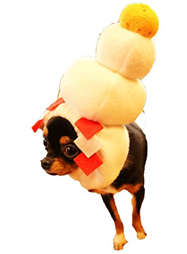鏡餅犬ヅラ【XS~LL】スヌ-ド*年賀状*プレゼントに! (XS)