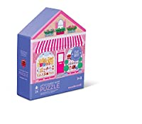 24pc 2-sided House/sweet Shop