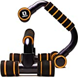LICLI プッシュアップバー 腕立て伏せ 筋肉トレーニング 滑りにくい スポンジ 筋トレ 器具 4カラー 「 組み立て式 プッシュアップスタンド 」「 自宅 トレーニング フィットネス 」「 腕 胸筋 腹筋 背筋 アップ 」