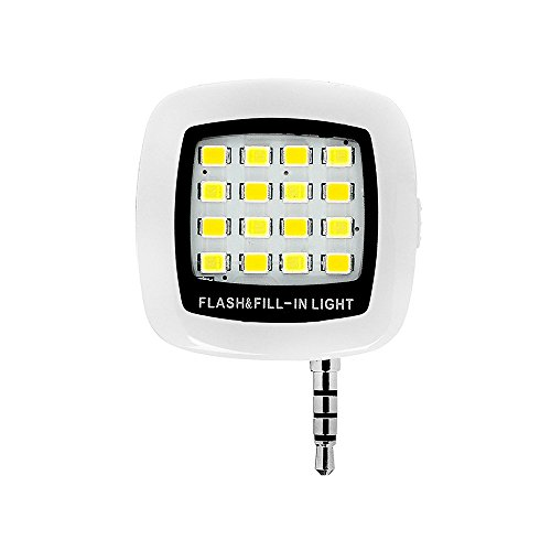 [해외]Sherry LED 셀카 라이트 스마트 폰용 LED 조명 밝기를 조절] 야간 사진 촬영 조명 보충 라이트 셀카 용 클립 셀카 봉/Sherry LED Celca Light LED Light for Smartphone [Brightness Adjustable] Night photography light replenishment light self-...