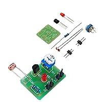 Ungfu Mall 30ピースdiy感光誘導電子スイッチモジュール光学制御diy生産トレーニングキット
