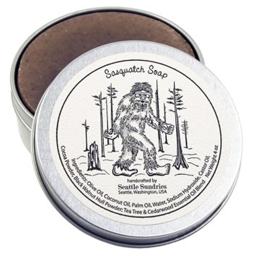糞ぜいたく暖かさシアトル石鹸 Sasquatch / ビッグフット Seattle Sundries社製