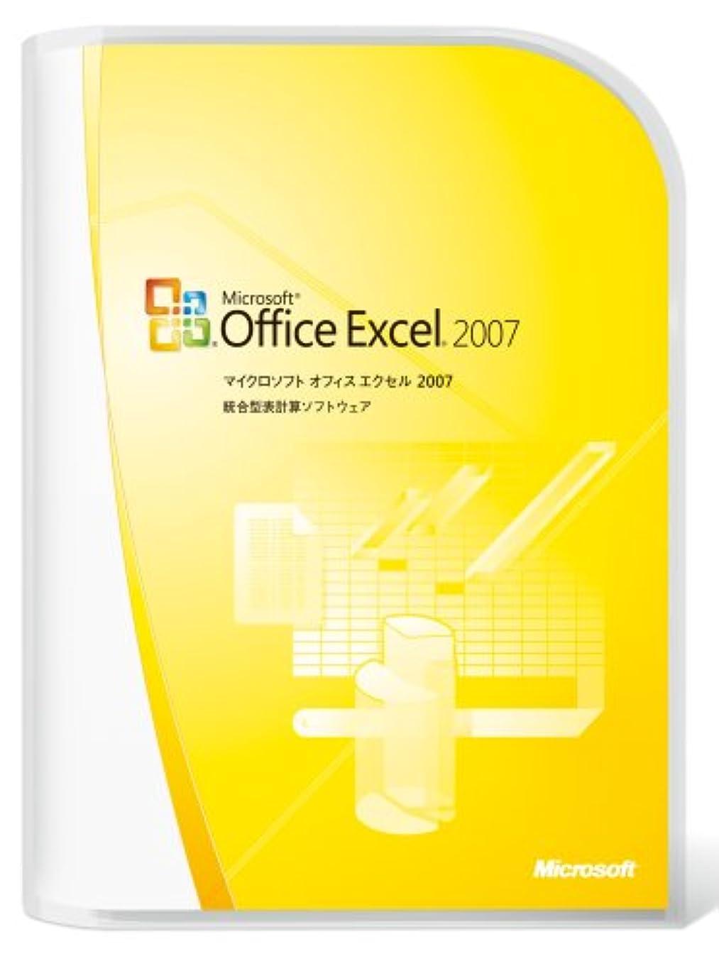 ダニドックフォーマット【旧商品/メーカー出荷終了/サポート終了】Microsoft Office Excel 2007