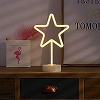 Kanodan LED ハロウィン オーナメント イルミネーションライト コンセント不要 お誕生日 ホームパーティー ウエディング 二次会飾り 照明 ライト デコレーション (星)
