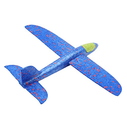d5e4e8ea781976 ... BEE&BLUE 手投げ グライダーモデル 模型 飛行機 航空機 軽量 慣性フォーム 回転飛行 発泡製 知育 ...
