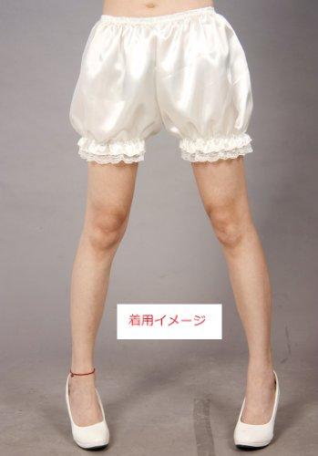 ペチコート ショートパンツ コスチューム用小物 ホワイト レディース フリーサイズ