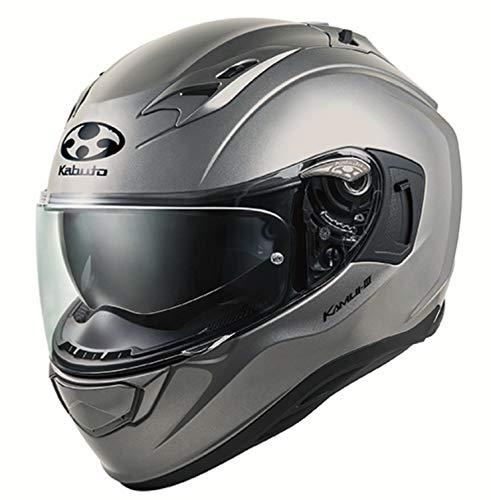 OGKカブト バイクヘルメット フルフェイス KAMUI3 クールガンメタ 584788 B07R1KSYHC 1枚目