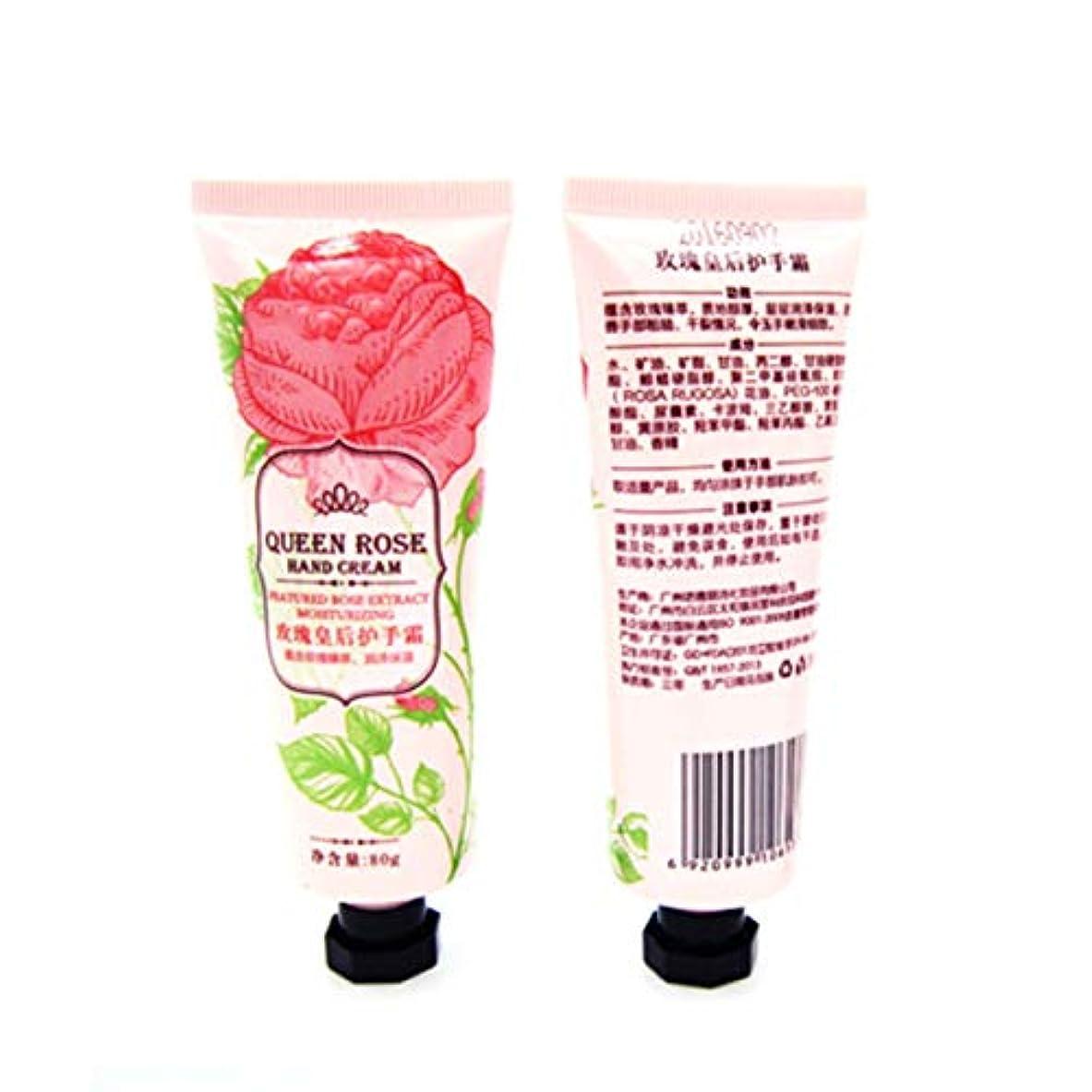 征服者香り右Yoshilimen コンディショニング栄養オイルコントロールハンドケアローズ香りハンドクリーム植物抽出物(None color)