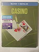Casino Limited Edition Steelbook (Blu-ray & Digital HD Copy)