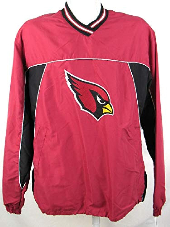 g-iii Arizona Cardinals Mens Largeプルオーバーウィンドブレーカージャケット