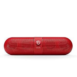 【国内正規品】Beats by Dr.Dre Pill 2.0 ワイヤレススピーカー Bluetooth対応 レッド MH832PA/A