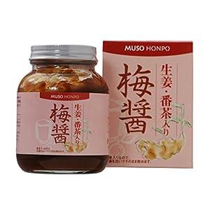 無双本舗 生姜・番茶入り梅醤 250g