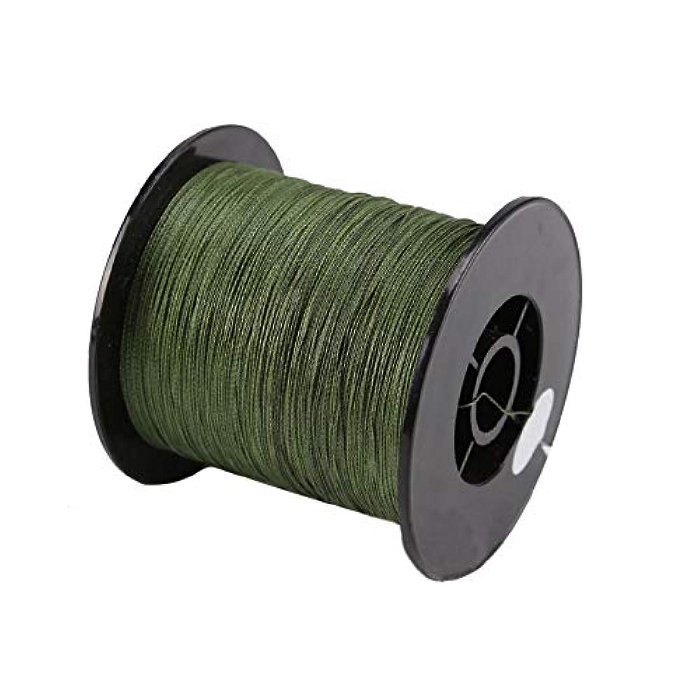 コンプリートソロジャズPE釣り糸 4編 プロフィッシングライン 500M 30-100LB 高強度 高感度 高耐久 頑丈 防水 軽量 湖海釣り専用 グリーン 釣り糸