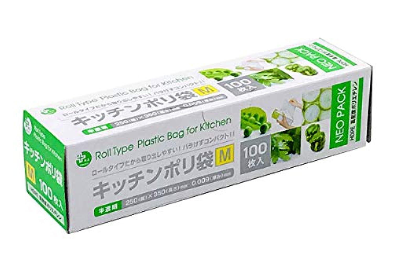 オルディ キッチンポリ袋HD-M 100枚入 半透明