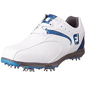 [フットジョイ] footjoy EXLBoa 45141J WT/BL (ホワイト/ブルー2016モデル/8 WIDE)