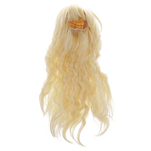 ノーブランド品  1/6 ブライス人形に対応 綺麗 前髪 巻き毛 ドール ウィッグ 全5色選べ - #2