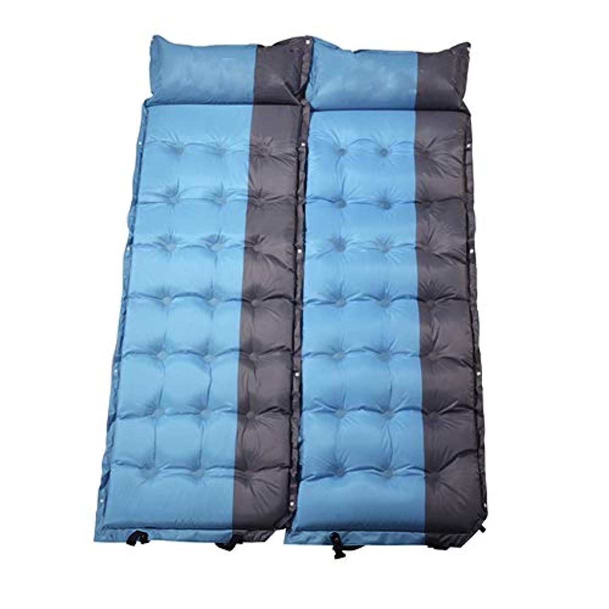 銃上陸感情屋外のシングル自動インフレータブルクッションで枕通気性の強い防湿肥厚ビーチパークハイキングピクニックキャンプテント