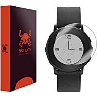 Pebble Time Round Screen Protector (20mm) Skinomi TechSkin (6-Pack) Full Coverage Screen Protector for Pebble Time Round Clear HD Anti-Bubble Film [並行輸入品]