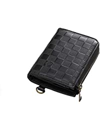 PANDORA(パンドラ) 二つ折り財布 メンズ ラウンドファスナー 二つ折り 財布 取り出しやすい 改良版 小銭入れ カード14枚収納 全3色 【正規品】 PW-015