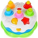 ハッピーケーキ ひかる 歌う お誕生日ごっこ 音楽おもちゃ 誕生日プレゼント (ハッピーケーキ) [並行輸入品]