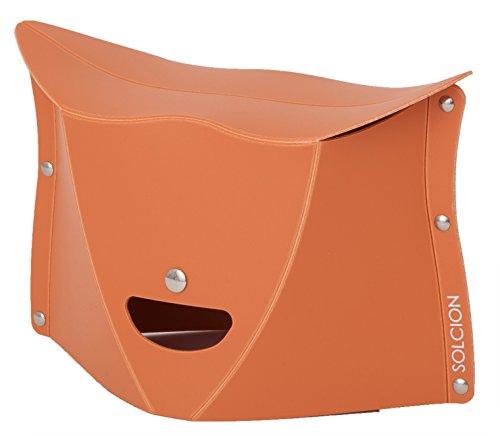 SOLCION 折りたたみ椅子 PATATTO 180 (パタット 180) テラコッタ 高さ18cm PT1804