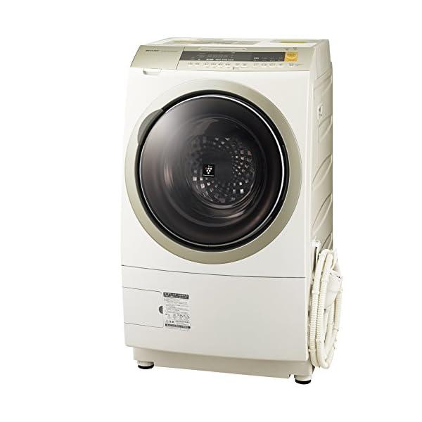 シャープ 洗濯乾燥機 ドラム式 プラズマクラスタ...の商品画像