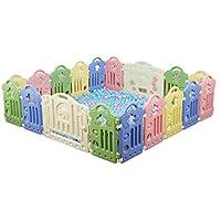 赤ちゃんのゲームのフェンス、子供のセキュリティフェンス家庭のクロールを歩くベビーガードレール屋内のおもちゃの保護フェンス40-80CM (色 : F f)