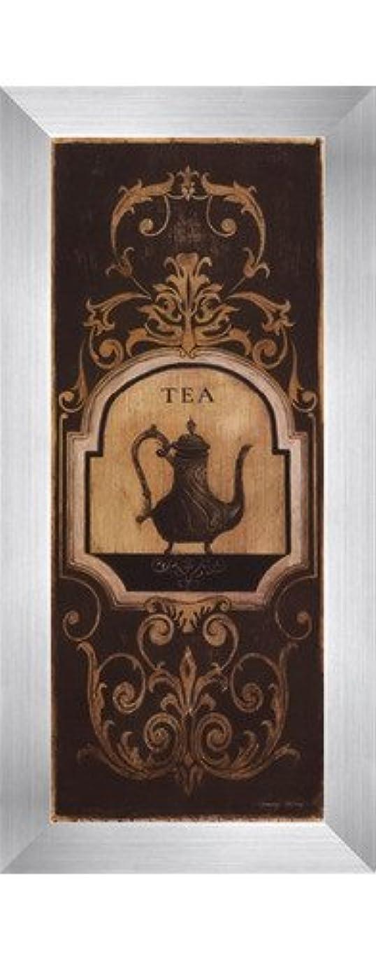 安定区画密Tea Time I – 小柄by Kimberly Poloson – 4 x 10インチ – アートプリントポスター LE_250289-F9935-4x10