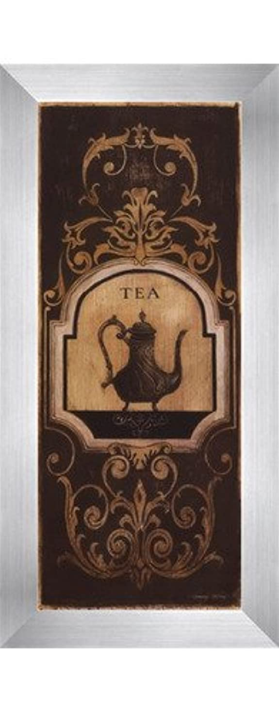 Tea Time I – 小柄by Kimberly Poloson – 4 x 10インチ – アートプリントポスター LE_250289-F9935-4x10