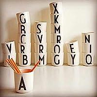 X:26個の英語唆すのMkカップカスタム誕生日プレゼントうがいコップシンプルな植木鉢をPersonized