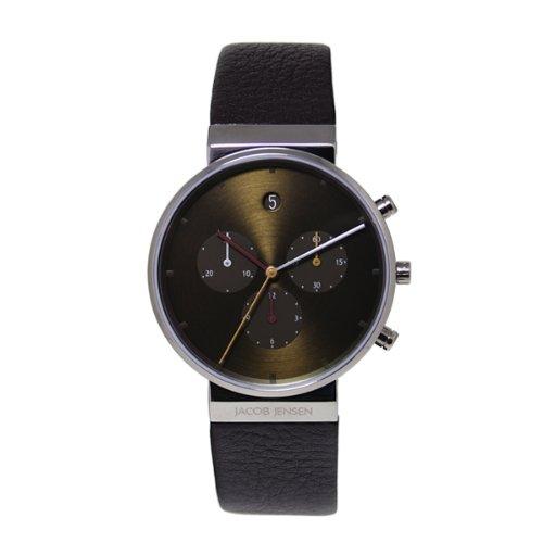 [ヤコブ・イェンセン]JACOB JENSEN 腕時計 クロノグラフ 604 [正規輸入品]