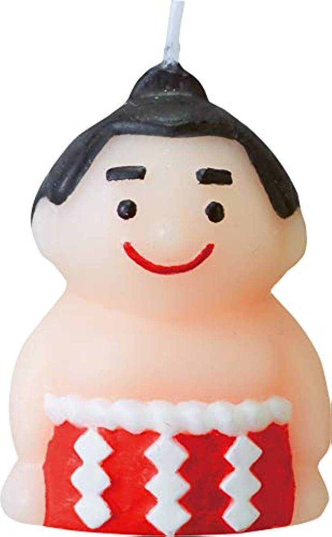以下どこにも韓国カメヤマキャンドルハウス にっぽんキャンドル すもう 1個