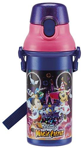 直飲み 水筒 プラワンタッチ ボトル 480ml ディズニー マジックキャッスル PSB5SAN