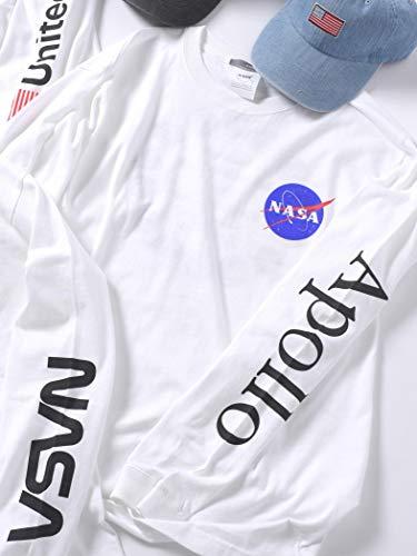 (シップス) SHIPS SU:NASA L/T EC 112040081 White3 日本 M-(日本サイズM相当)