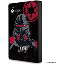 Seagate 2 TB External Portable HDD - Star Wars Edition, Jedi Fallen Order, Officially Licensed for Xbox (STEA2000426)