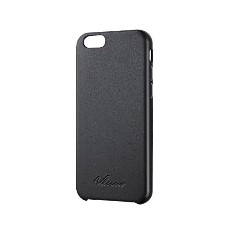 近似感謝事業ELECOM iPhone6S iPhone6 レザーカバー オープン ブラック PM-A14PVLBK