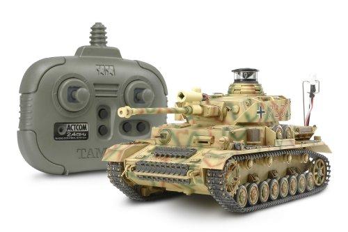 1/35 ラジオコントロールタンクシリーズ No.11 RC ドイツ IV号戦車 J型 (2.4GHzプロポ + バトルユニット付)