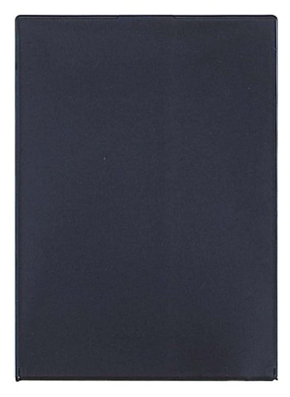 従うきれいに無限大ビブレ角型コンパクトミラーLL ブラック Y-1207