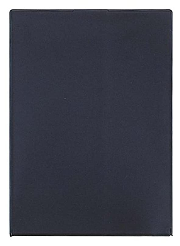 申し立てられた追放するテニスビブレ角型コンパクトミラーLL ブラック Y-1207