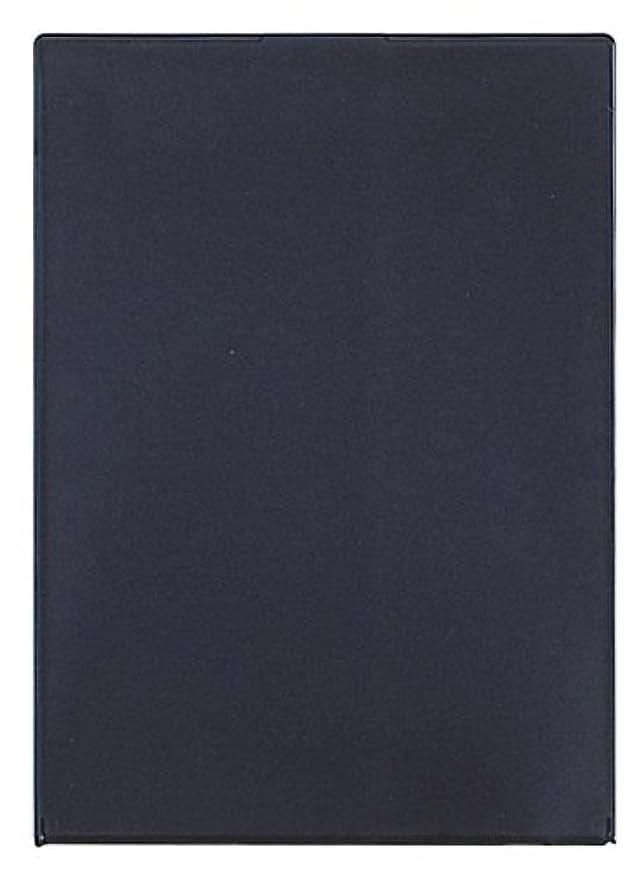 博物館フルーツブリッジビブレ角型コンパクトミラーLL ブラック Y-1207
