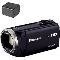 Panasonic HDビデオカメラ V360MS 16GB 高倍率90倍ズーム ブラック HC-V360MS-K + バッテリーパック セット