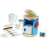 Melissa & Doug Wooden Brew & Serve Coffee Set [並行輸入品]