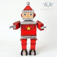 サンタロボットオルゴール クリスマス置物