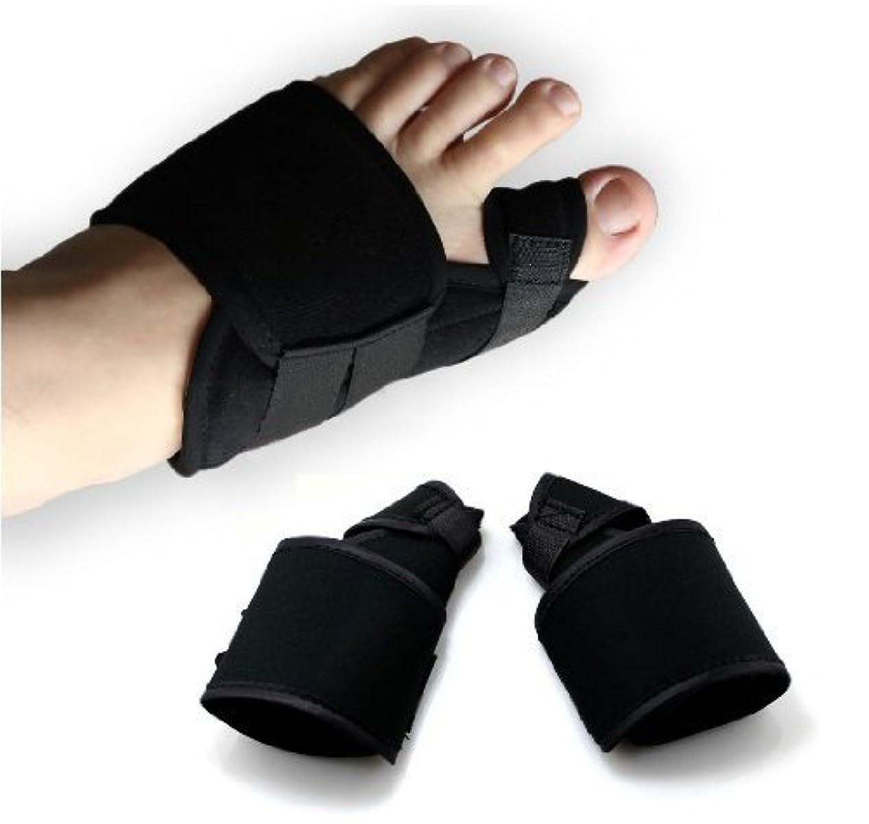 四回昇進自己尊重UTOKY 外反母趾サポーター 両足セット 辛い痛みを抑える外反母趾サポーター